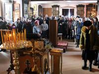 Чтение первой части Великого покаянного канона преп. Андрея Критского