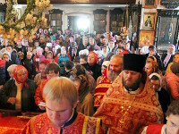 Вторник Светлой Седмицы. Праздник в честь иконы Божией Матери Иверской в храме Всех Святых города Петропавловска