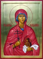 4 августа — день святой равноапостольной Марии Магдалины