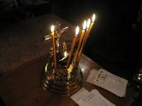 Заупокойное богослужение в храме Всех Святых