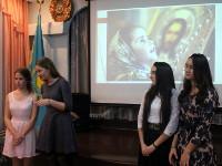 Праздник Введения во храм Пресвятой Богородицы в школе в честь прп. Сергия Радонежского