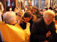 Божественная Литургия в неделю 25-ю по Пятидесятнице