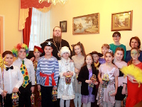 Рождественский концерт в школе в честь прп. Сергия Радонежского