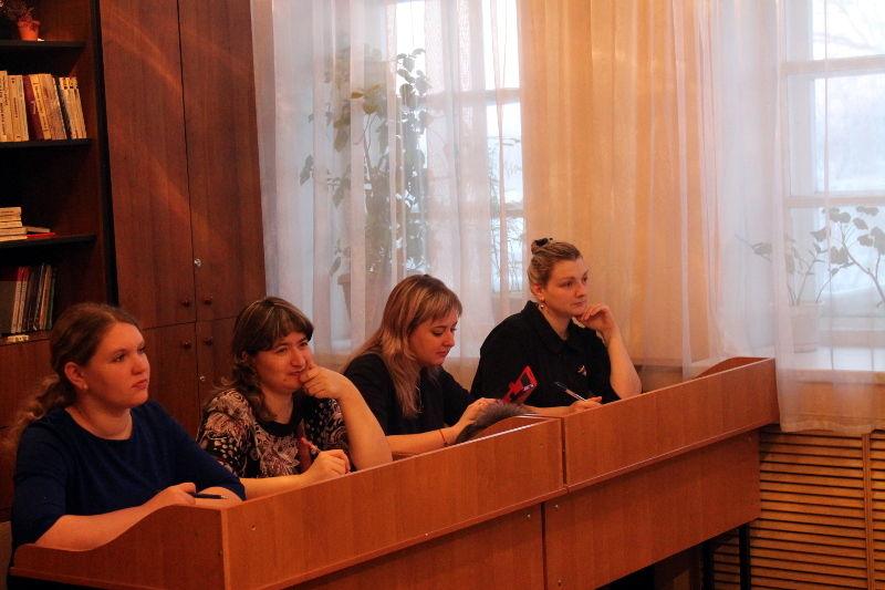 Методический семинар в школе в честь Преподобного Сергия Радонежского