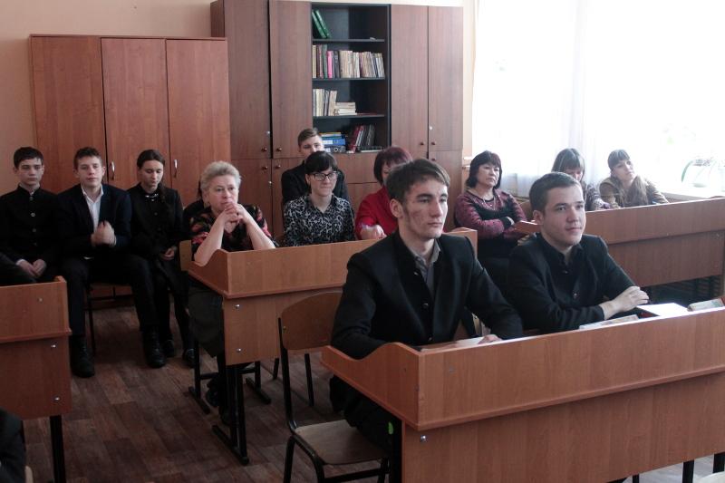 Обсуждение ежегодного Послания Президента РК в школе Сергия Радонежского