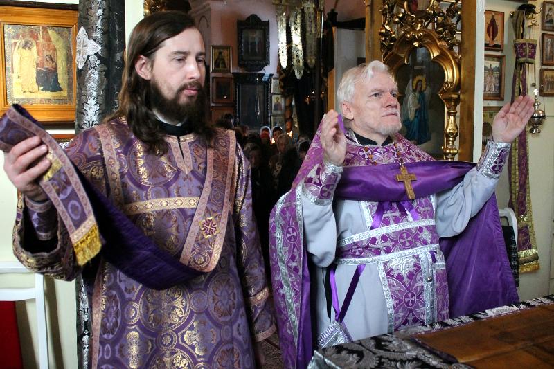Праздник Торжества Православия в храме Всех Святых