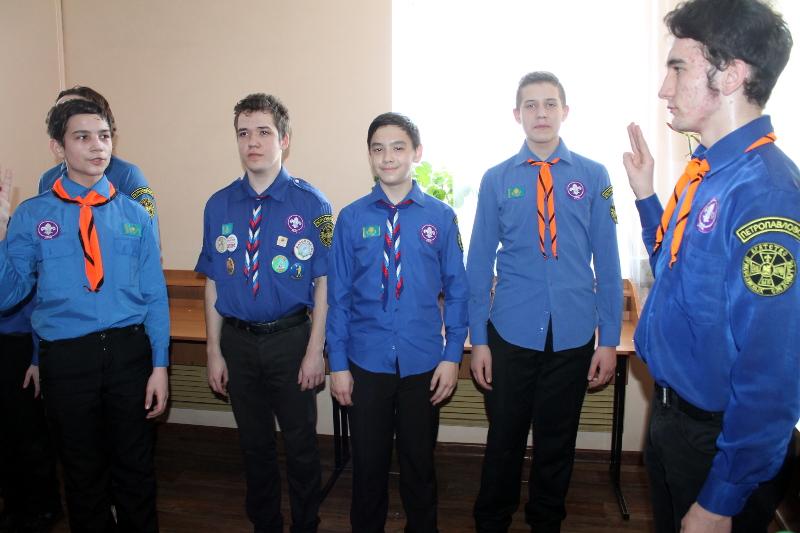 Торжественное собрание отряда «Дельта», посвященное Дню Защитника Отечества