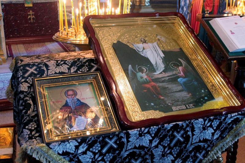 Четвертая неделя Великого поста — день преподобного Иоанна Лествичника