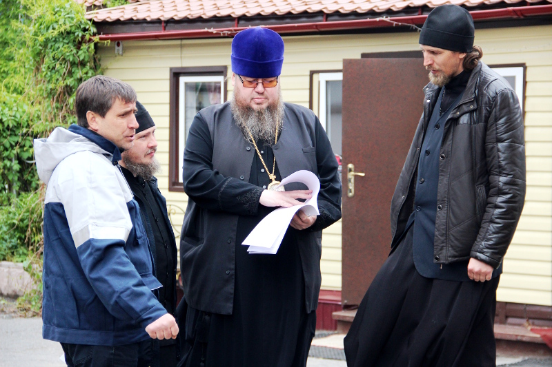 Визит епископа Владимира в храм Всех Святых г. Петропавловска