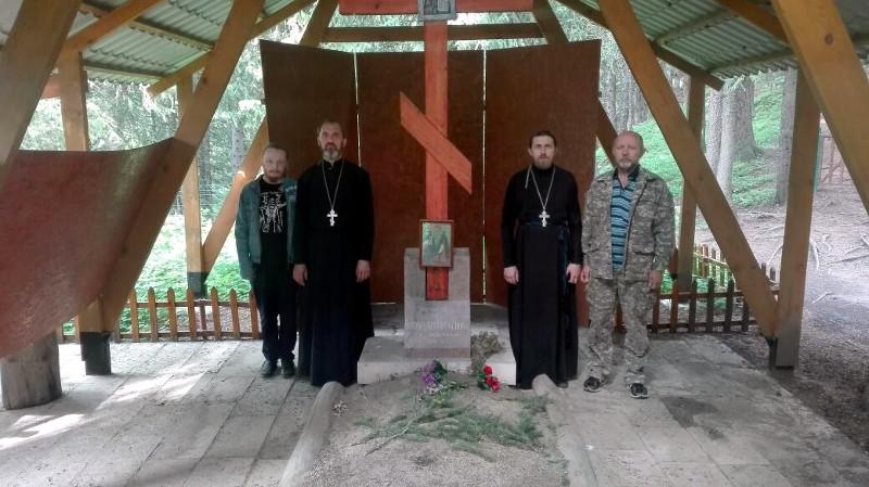 Посещение мест духовного подвига