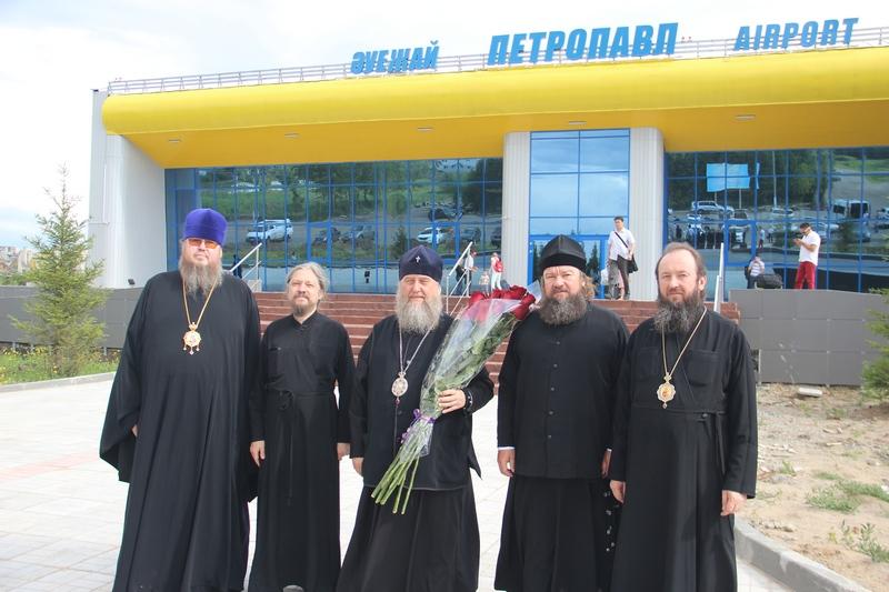 ВИЗИТ ГЛАВЫ МИТРОПОЛИЧЬЕГО ОКРУГА В РЕСПУБЛИКЕ КАЗАХСТАН В ПРЕДЕЛЫ ПЕТРОПАВЛОВСКОЙ И БУЛАЕВСКОЙ ЕПАРХИИ