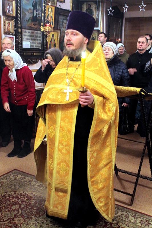 Престольный праздник крестильного храма в честь праведного Иоанна Кронштадтского