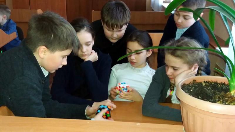 Школьный клуб «Спидкубинг»