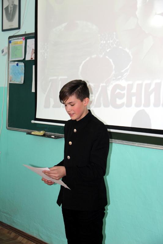Фестиваль художественного чтения в школе в честь прп. Сергия Радонежского