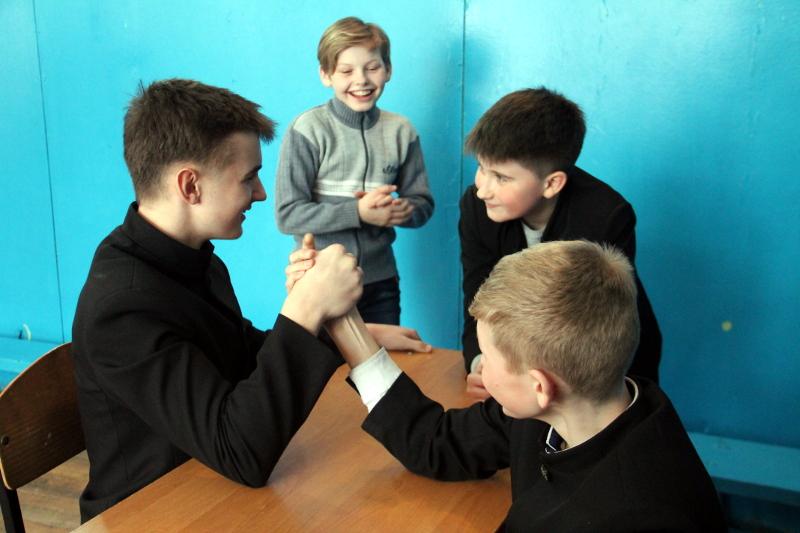Дни спорта в школе в честь прп. Сергия Радонежского