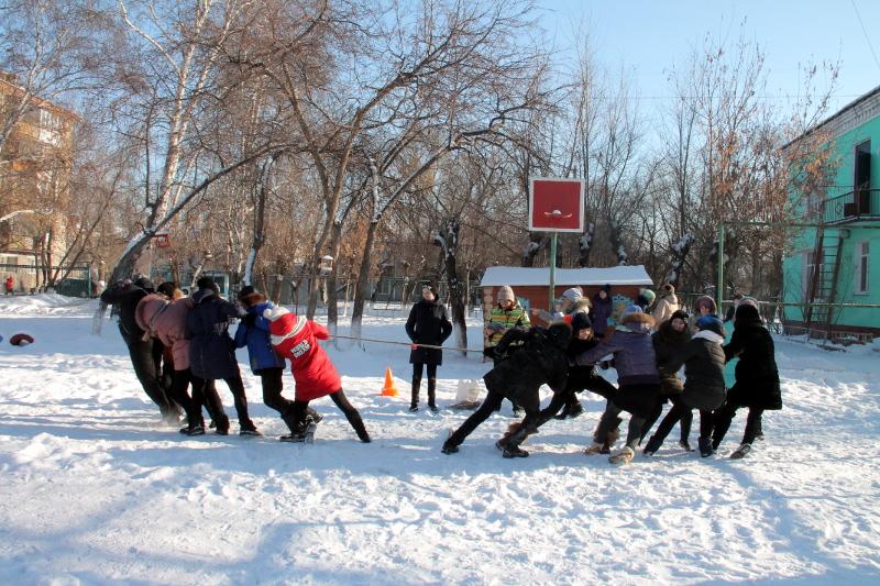 «Широкая масленица» в школе прп. Сергия Радонежского