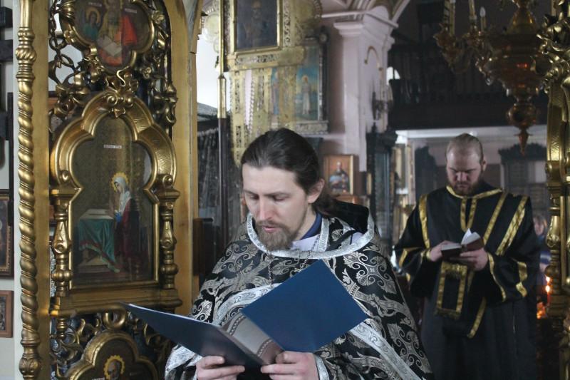 22 марта четверток Великого канона