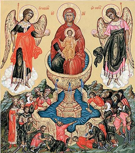Праздник в честь иконы Пресвятой Богородицы «Живоносный Источник»
