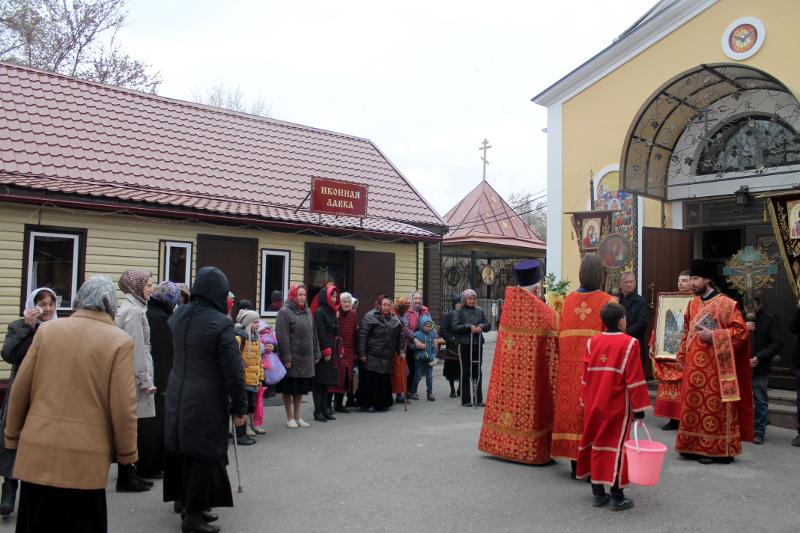 Отдание праздника Пасхи в Храме Всех Святых
