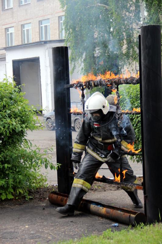 «День открытых дверей» в пожарной части № 2