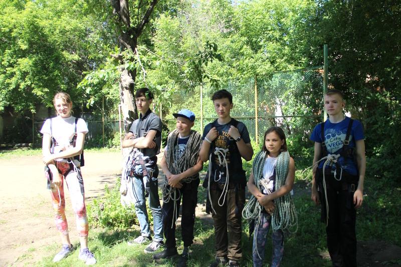 Спортивно-трудовой лагерь для мальчиков