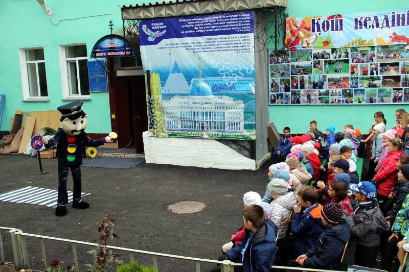 Уроки Правил Дорожного Движения в школе в честь прп. Сергия Радонежского