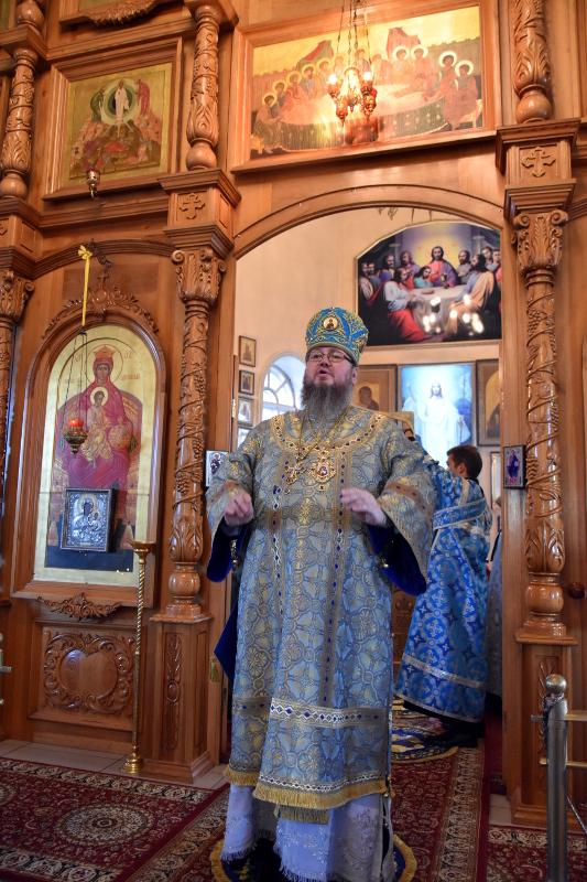 Отдание праздника Рождества Пресвятой Богородицы в кафедральном соборе Вознесения Господня