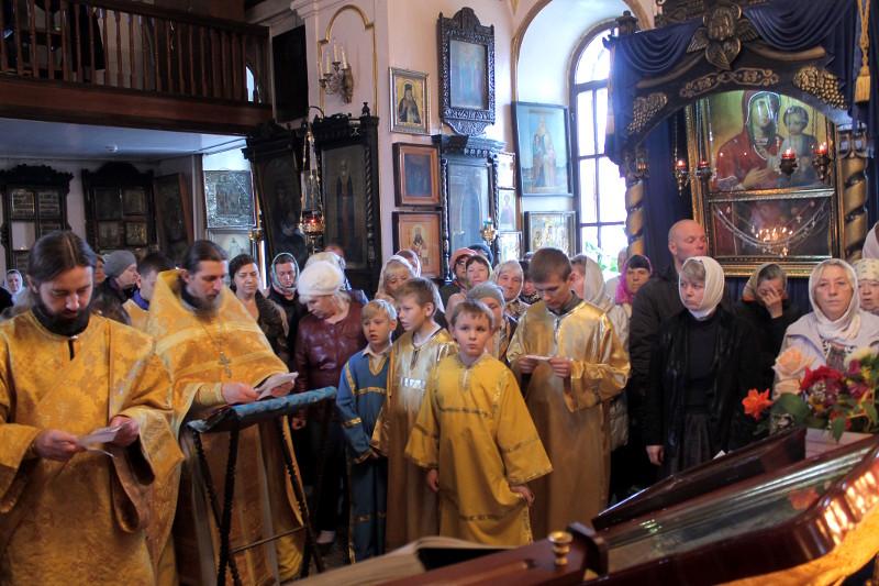 Воскресное богослужение о чудесном улове