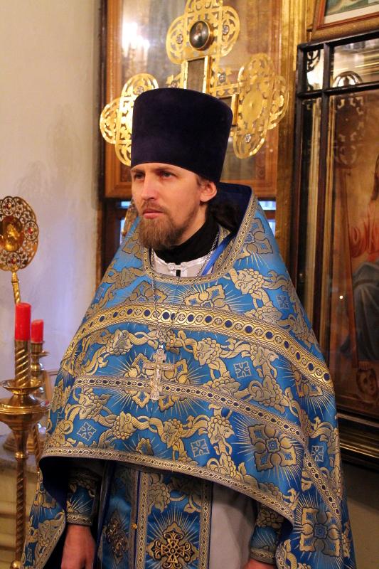 Иерей Антоний Геннадьевич Шувакин