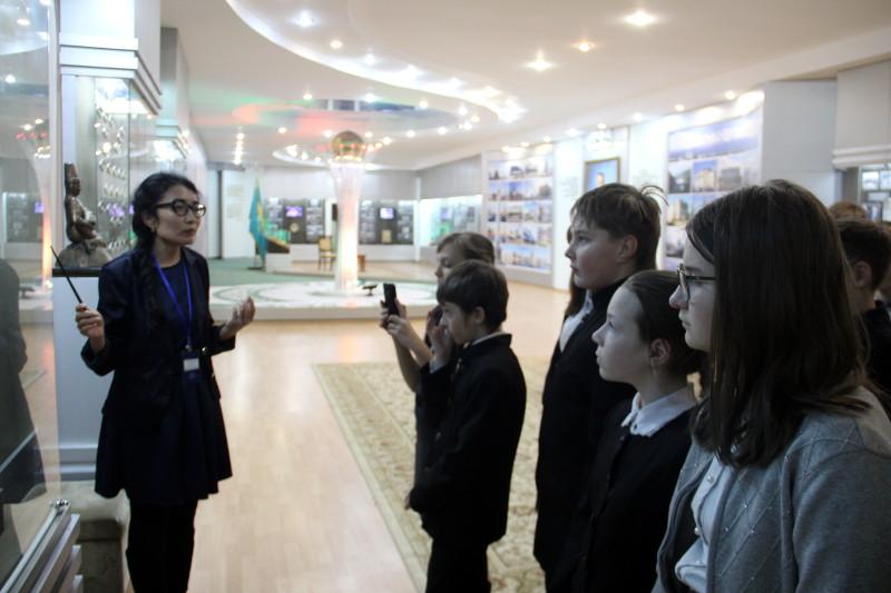 Музейный урок «Лидер Нации»