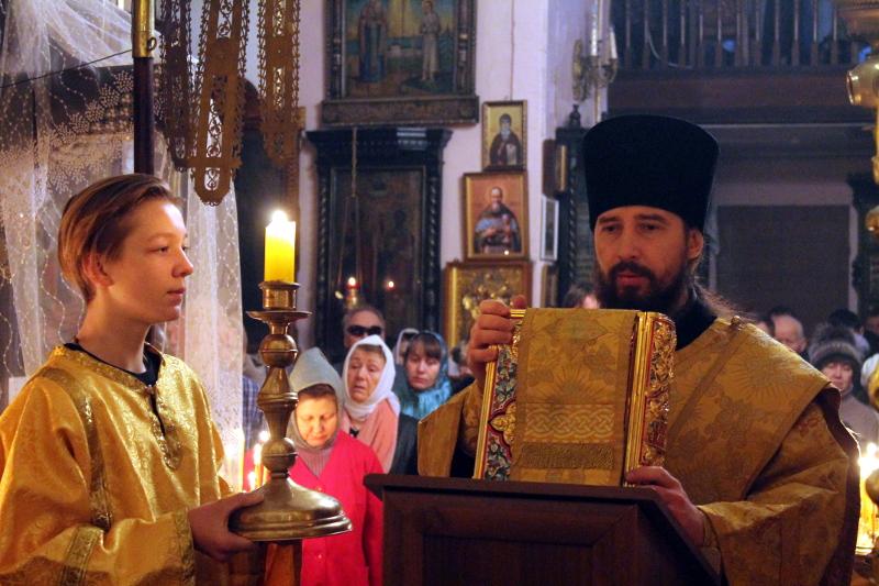 День памяти святителя Иоасафа Белгородского