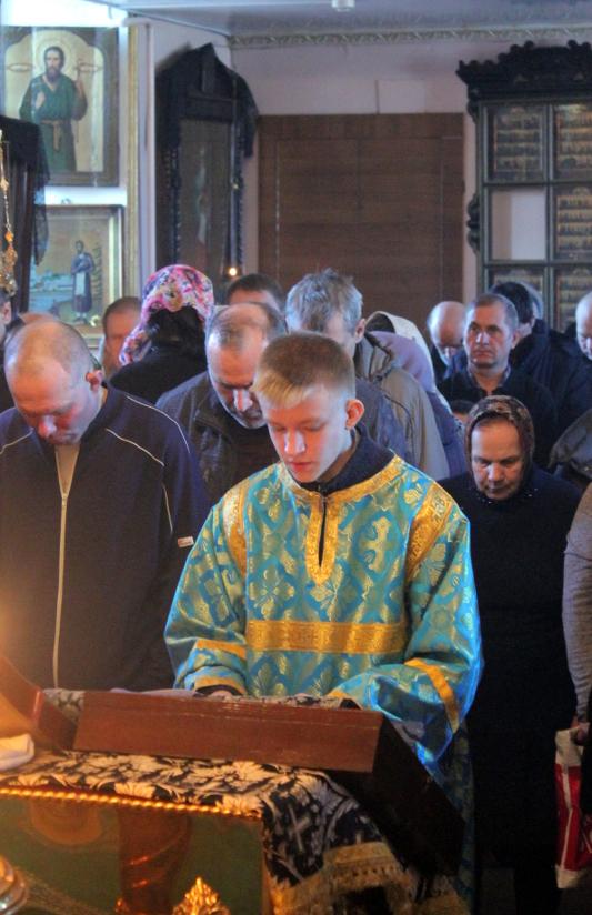 Торжество Православия в храме Всех Святых