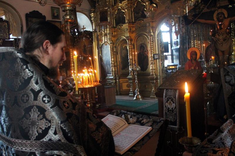 Первая Пассия в храме Всех Святых