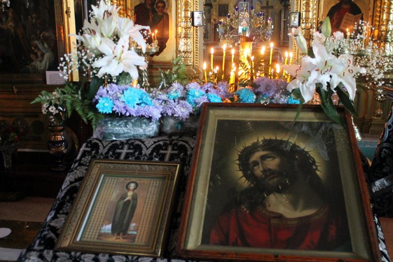 «Мариино стояние» в храме Всех Святых