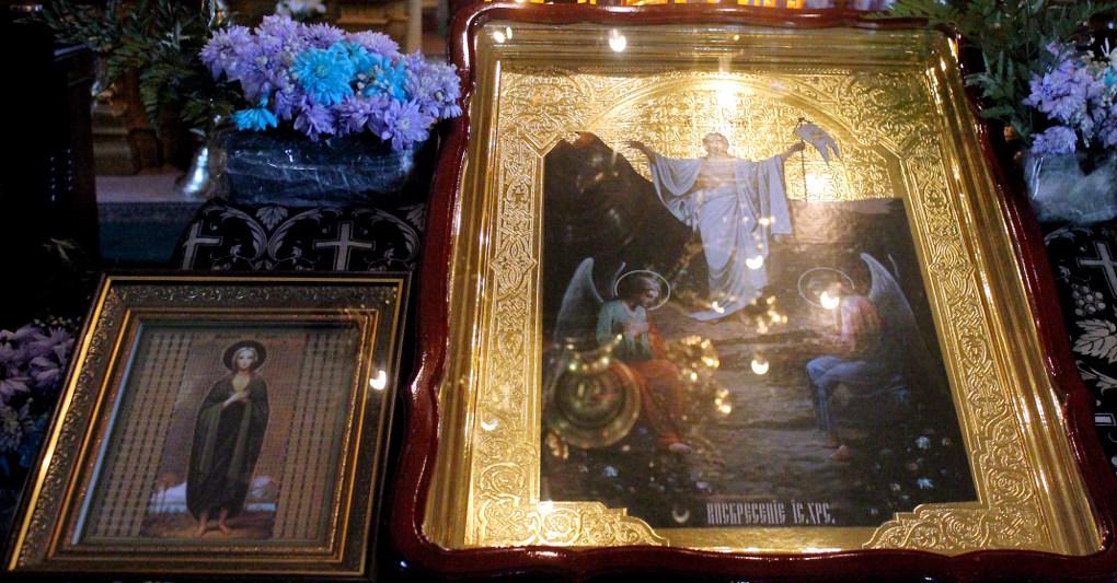 День памяти преподобной Марии Египетской в храме Всех Святых