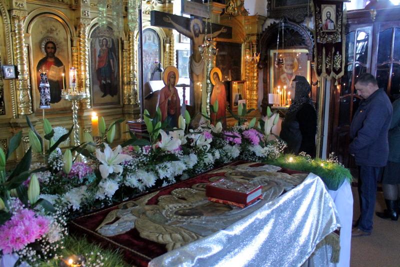 Великая Суббота в храме Всех Святых