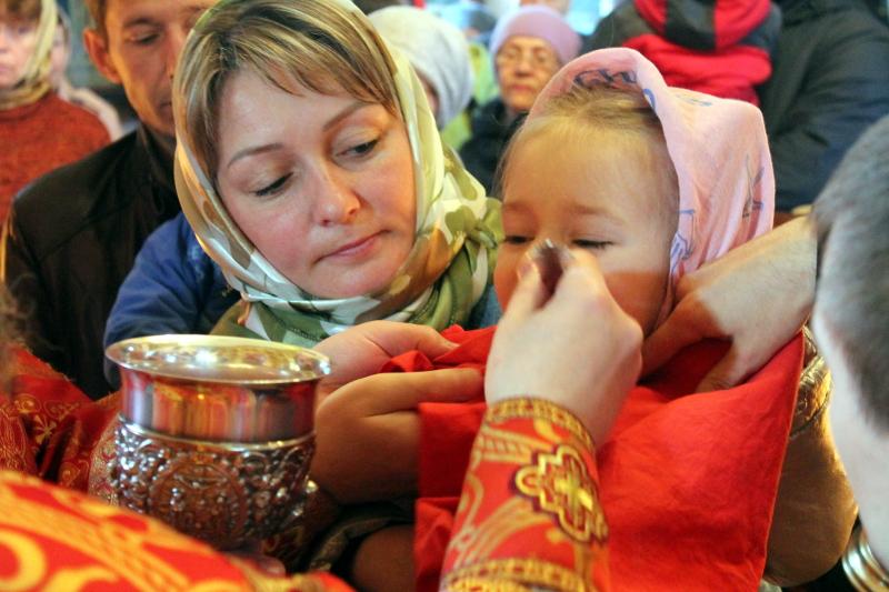 Божественная Литургия в неделю о самаряныне