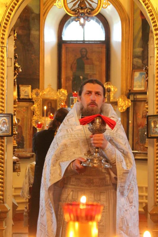 Праздник Вознесения Господня в храме Всех Святых
