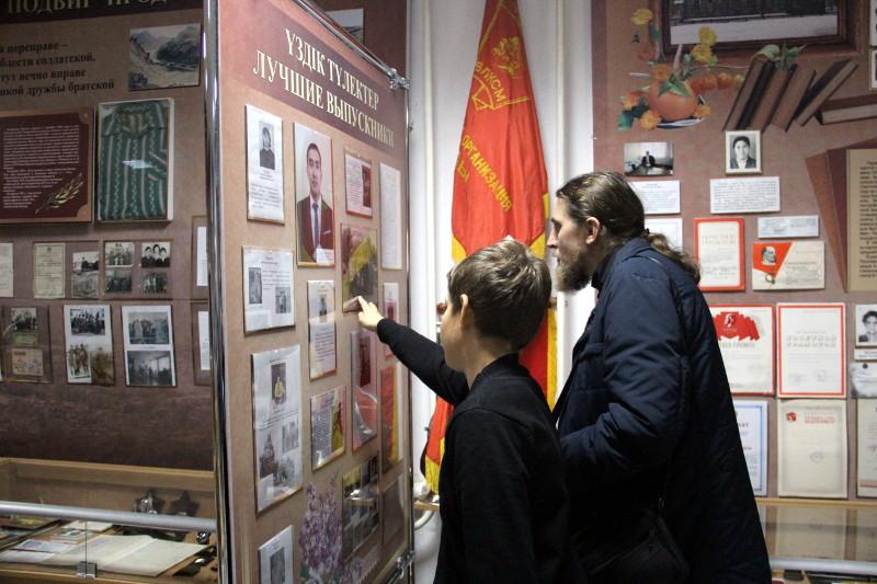 Следопыты отряда «Дельта» посетили храм архангела Михаила в с.Архангельское