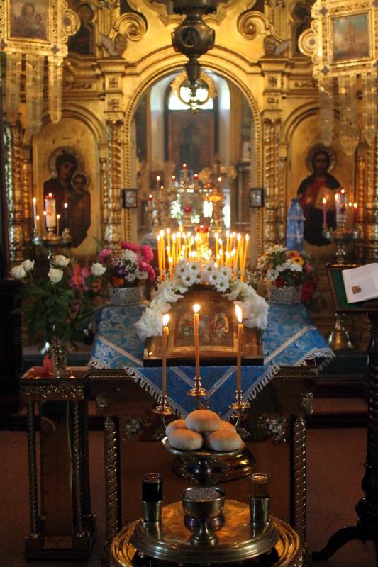 Рождество Пресвятой Богородицы в храме Всех Святых