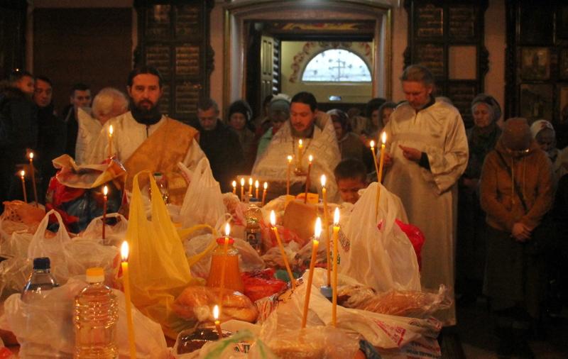 Родительская суббота в храме Всех Святых