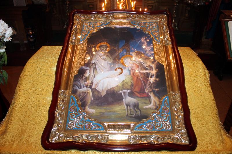 Рождественский сочельник в храме Всех Святых