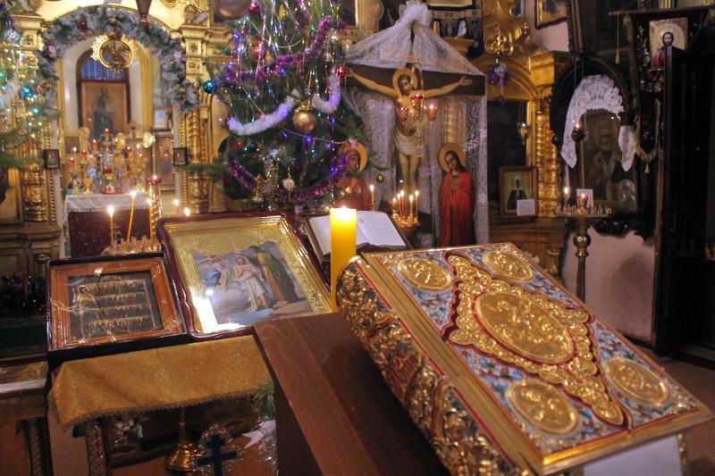 Великие часы под праздник Богоявления