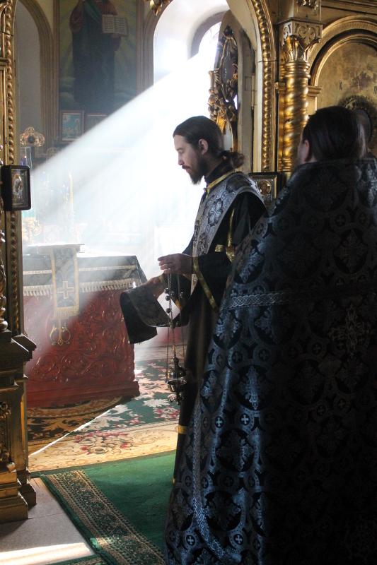 Литургия Преждеосвященных Даров в пятницу первой седмицы Великого Поста
