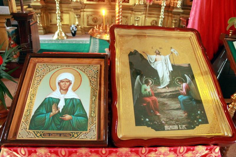 2 мая - день памяти святой блаженной старицы Матроны Московской