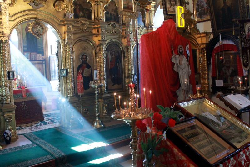 Панихида в честь погибших воинов в годы Отечественной войны 1941-1945 гг.
