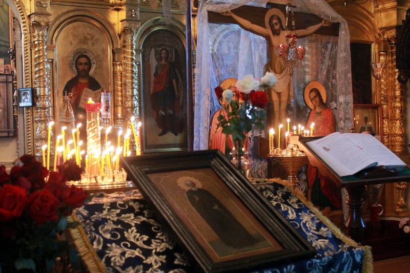 День преподобного Сергия Радонежского в храме Всех Святых