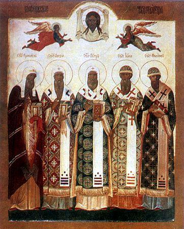 Литургия в Неделю 19-ю по Пятидесятнице в храме Всех Святых