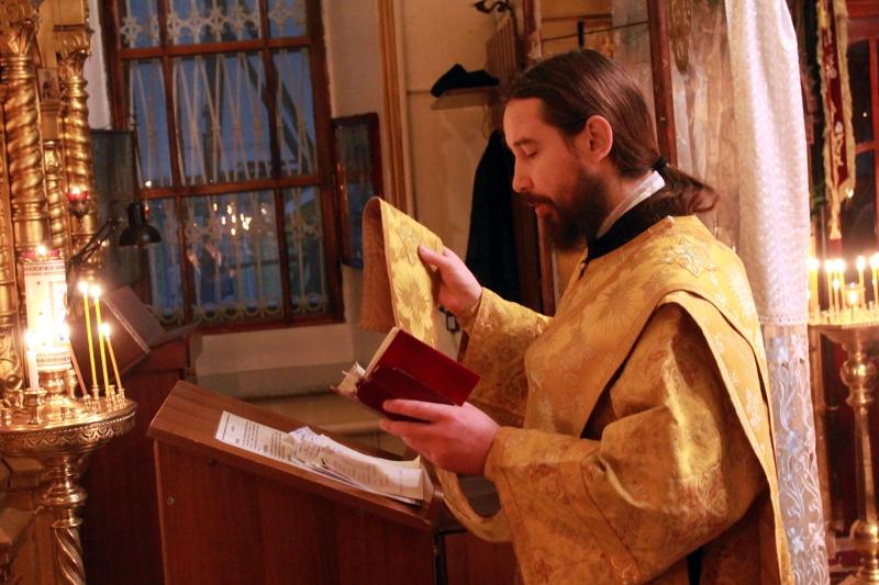 Божественная Литургия в Неделю 29-ую по Пятидесятнице