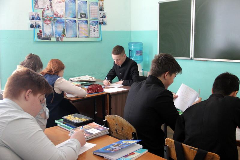«День самоуправления» в школе в честь прп. Сергия Радонежского